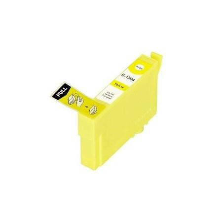 1304 - Cartouche d'encre équivalent EPSON T1304 compatible « CERF » JAUNE XL