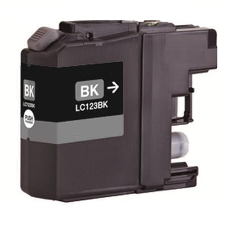 123 - Cartouche d'encre équivalent BROTHER LC-123BK compatible (LC123) NOIR