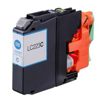 223 - Cartouche d'encre équivalent BROTHER LC-223C compatible (LC223) CYAN