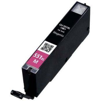 551 - Cartouche d'encre équivalent CANON CLI-551M XL 6445B001 compatible (CLI551) MAGENTA XL