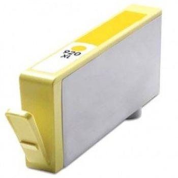 920 - Cartouche d'encre équivalent HP-920XL compatible CD974AE (HP920) JAUNE XL