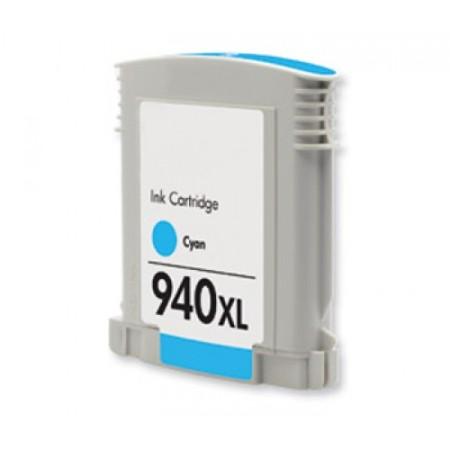 940 - Cartouche d'encre équivalent HP-940XL compatible C4907AE (HP940) CYAN XL