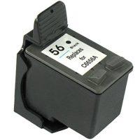 56 - Cartouche d'encre équivalent HP 56 compatible C6656A (HP56) NOIR