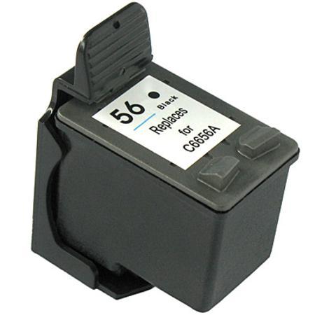 56 - Cartouche d'encre équivalent HP-56 compatible (HP56) C6656A NOIR