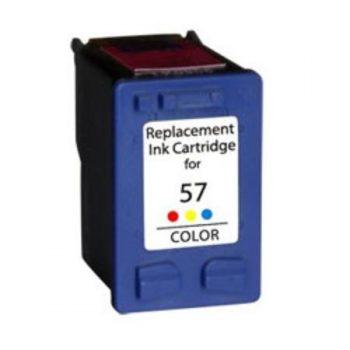 57 - Cartouche d'encre équivalent HP-57 compatible C6657A (HP57) TRICOLOR