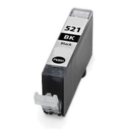 521 - Cartouche d'encre équivalent CANON CLI-521BK compatible 2933B001 (CLI521) - NOIR