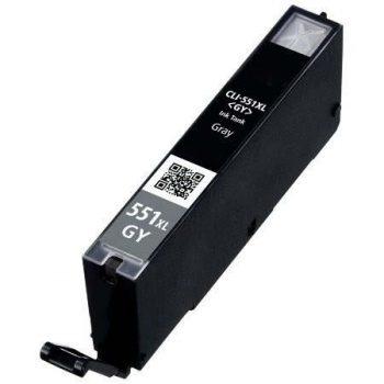551 - Cartouche d'encre équivalent CANON CLI-551GY XL-6447B001 compatible (CLI551) - GRIS XL