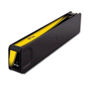 971 - Cartouche d'encre équivalent HP-971XL compatible CN628AE (HP971) JAUNE XL
