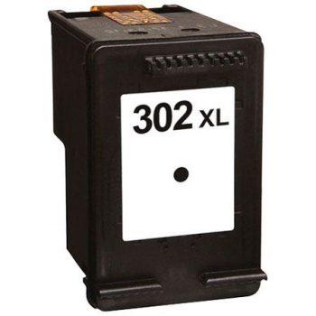 302 - Cartouche d'encre équivalent HP-302XL compatible F6U68AE (HP302) NOIR XL