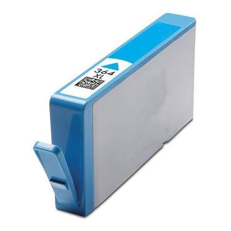 364 - Cartouche d'encre équivalent HP-364XL- CB323EE-CN685EE compatible (HP364) CYAN XL