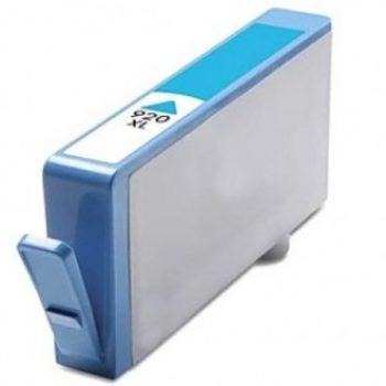 920 - Cartouche d'encre équivalent HP-920XL-CD972AE compatible (HP920) CYAN XL