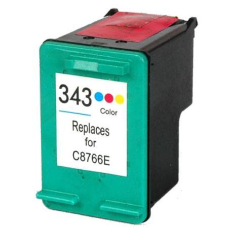 343 - Cartouche d'encre équivalent HP-343 compatible C8766EE (HP343) TRICO