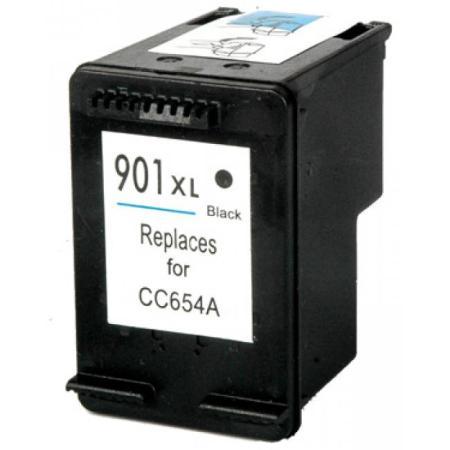 901 - Cartouche d'encre équivalent HP-901XL compatible CC654AE (HP901) NOIR XL