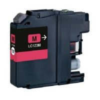 123 - Cartouche d'encre équivalent BROTHER LC-123M compatible (LC123) MAGENTA