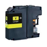 123 - Cartouche d'encre équivalent BROTHER LC-123Y compatible (LC123) JAUNE