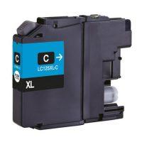 125 - Cartouche d'encre équivalent BROTHER LC-125XLC compatible (LC125) CYAN