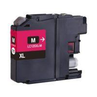 125 - Cartouche d'encre équivalent BROTHER LC-125XLM compatible (LC125) MAGENTA