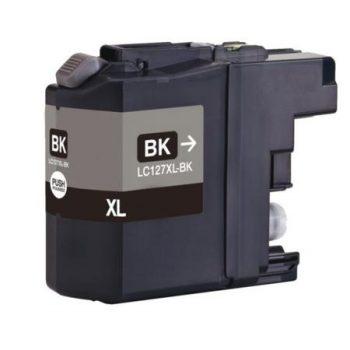 127 - Cartouche d'encre équivalent BROTHER LC-127XLBK compatible (LC127) NOIR