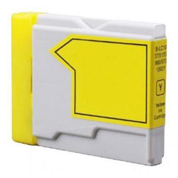 1000 - Cartouche d'encre équivalent BROTHER LC-1000Y compatible (LC1000) JAUNE
