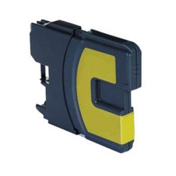 1100 - Cartouche d'encre équivalent BROTHER LC-1100Y compatible (LC1100) JAUNE