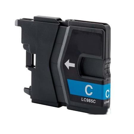 985 - Cartouche d'encre équivalent BROTHER LC-985C compatible (LC985) CYAN