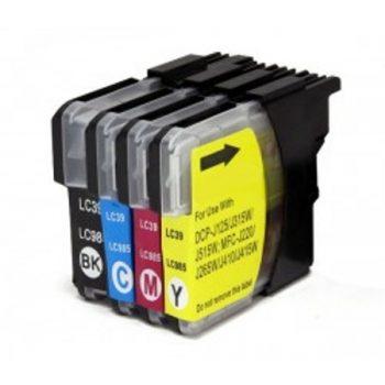 985 - Cartouche d'encre équivalent BROTHER LC-985VALBP compatible (LC985) PACK 4 COULEURS