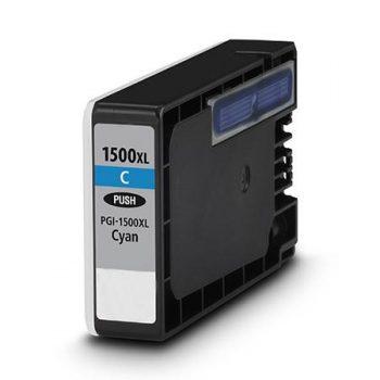 1500 - Cartouche d'encre équivalent CANON PGI-1500XLC compatible 9193B001 (PGI1500) - CYAN XL