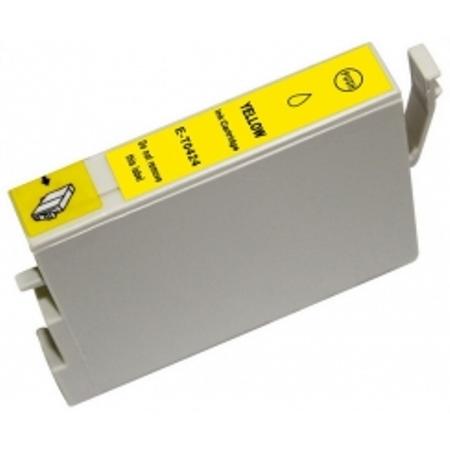 0424 - Cartouche d'encre équivalent EPSON T0424 compatible « Intercalaires » JAUNE