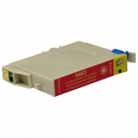 0483 - Cartouche d'encre équivalent EPSON T0483 compatible « Hippocampe » MAGENTA