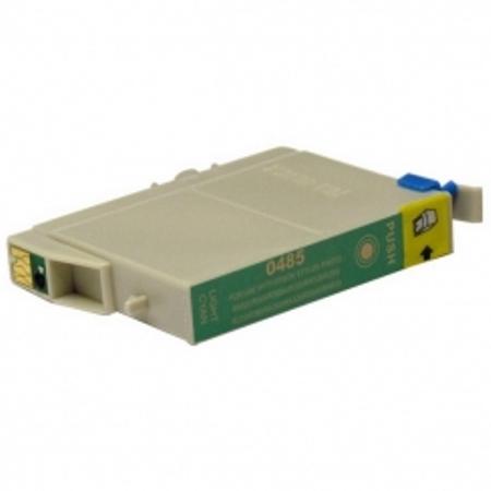 0485 - Cartouche d'encre équivalent EPSON T0485 compatible « Hippocampe » CYAN CLAIR