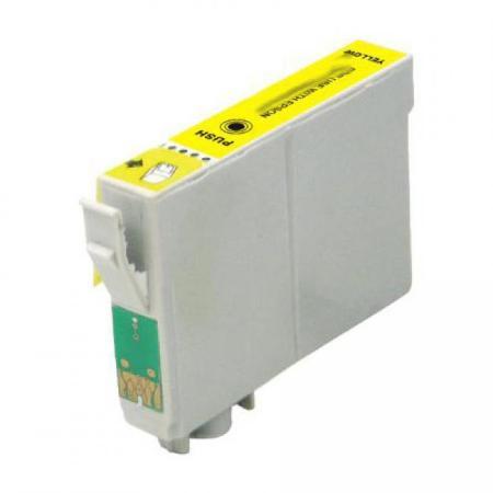 """1284 - Cartouche d'encre équivalent EPSON T1284 compatible """"Renard"""" JAUNE"""