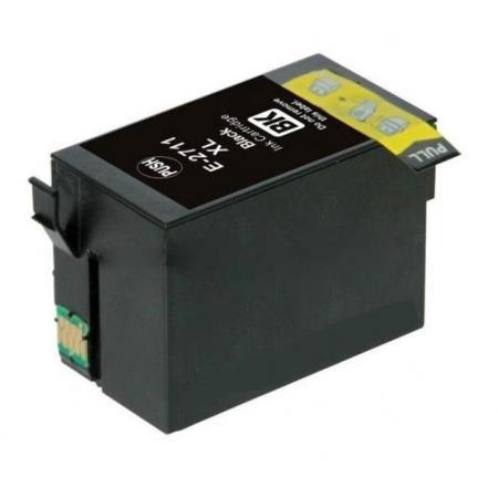 2711 - Cartouche d'encre équivalent EPSON T2711 compatible « Réveil » NOIR XL