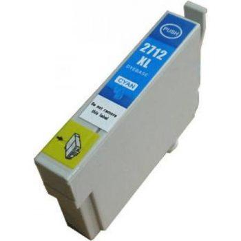 2712 - Cartouche d'encre équivalent EPSON T2712 compatible « Réveil » CYAN XL