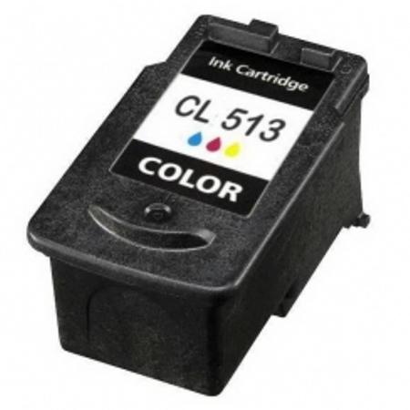 513 - Cartouche d'encre équivalent CANON CL-513 compatible 2971B001 (CL513) TRICOLOR XL