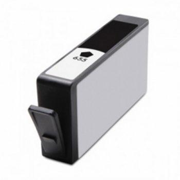 655 - Cartouche d'encre équivalent HP 655-CZ109AE compatible (HP655) NOIR