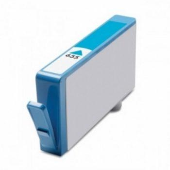 655 - Cartouche d'encre équivalent HP 655-CZ110AE compatible (HP655) CYAN