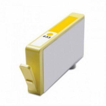 655 - Cartouche d'encre équivalent HP 655-CZ112AE compatible (HP655) JAUNE