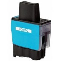 900 - Cartouche d'encre équivalent BROTHER LC-900C compatible (LC900)-LC-950C (LC950) CYAN
