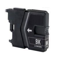 985 – Cartouche d'encre équivalent BROTHER LC-985BK compatible (LC985) NOIR
