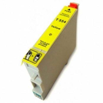 0554 - Cartouche d'encre équivalent EPSON T0554 compatible JAUNE