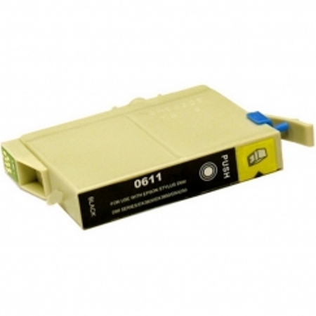 0611 - Cartouche d'encre équivalent EPSON T0611 compatible « Ourson » NOIR