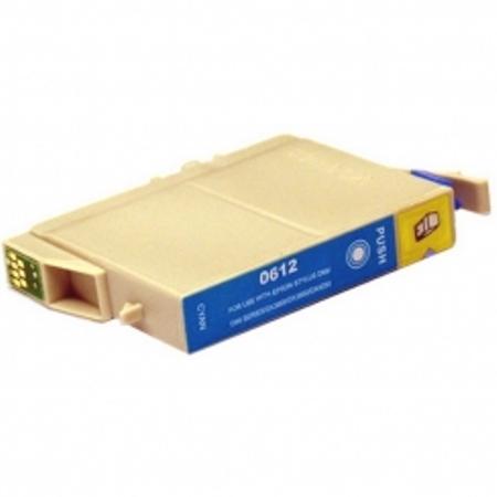 0612 - Cartouche d'encre équivalent EPSON T0612 compatible « Ourson » CYAN