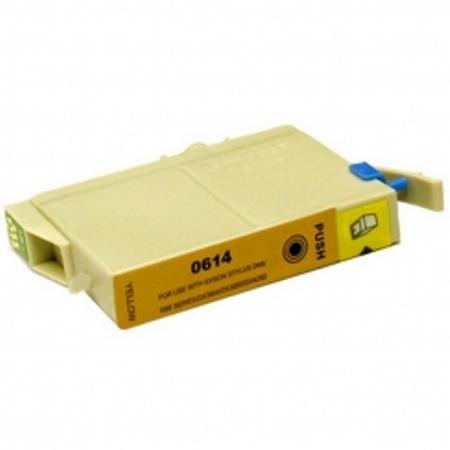 0614 - Cartouche d'encre équivalent EPSON T0614 compatible « Ourson » JAUNE
