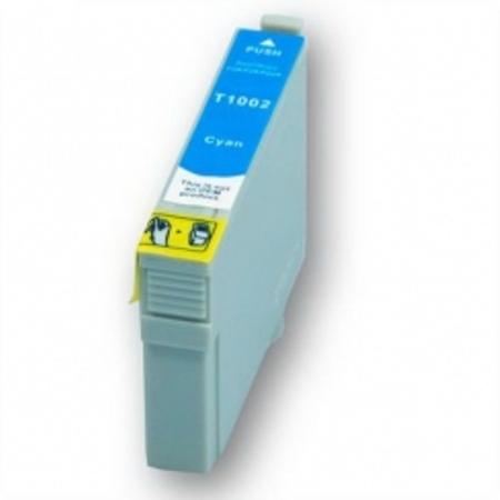 1002 - Cartouche d'encre équivalent EPSON T1002 compatible « Rhinocéros » CYAN