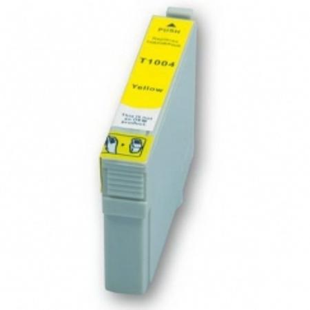 1004 - Cartouche d'encre équivalent EPSON T1004 compatible « Rhinocéros » JAUNE