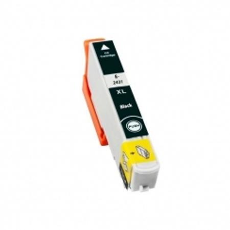 2431 - Cartouche d'encre équivalent EPSON T2431 compatible « Eléphant » NOIR XL