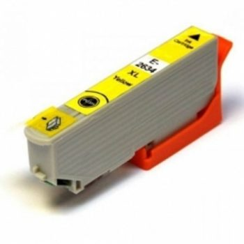 2634 - Cartouche d'encre équivalent EPSON T2634 compatible « Ours Polaire » JAUNE XL