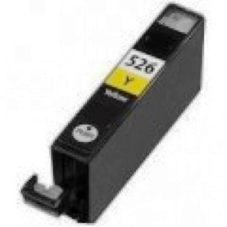 526 - Cartouche d'encre équivalent CANON CLI-526Y compatible 4543B001 (CLI526) - JAUNE