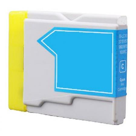 1000 - Cartouche d'encre équivalent BROTHER LC-1000C compatible (LC1000) CYAN