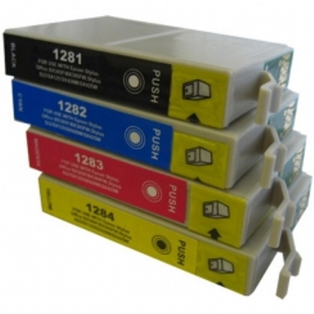 epson t1285 compatible renard pack 4 couleurs. Black Bedroom Furniture Sets. Home Design Ideas